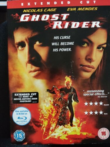 Ghost Rider DVD cert 15 Region2 with sleeve