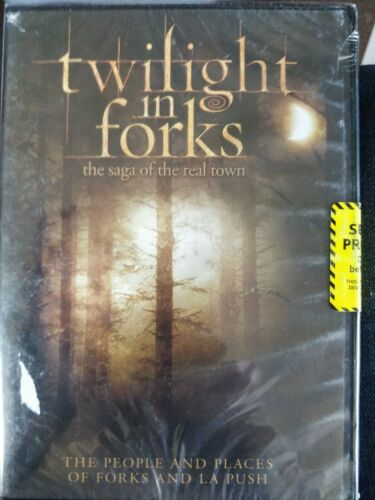 Twilight In Forks  The Saga Of The Real Town DVD New Factory sealed