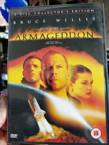 collector's editArmageddon 2 discion Bruce Willis cert 15 region 2  (DVD)