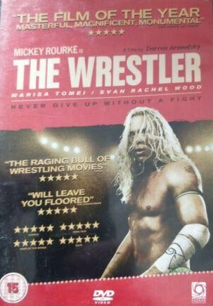 The Wrestler DVD cert 15 region 2
