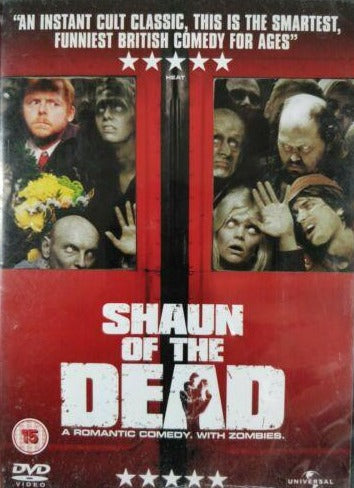Shaun of the Dead dvd cert 15 region 2 classic movies