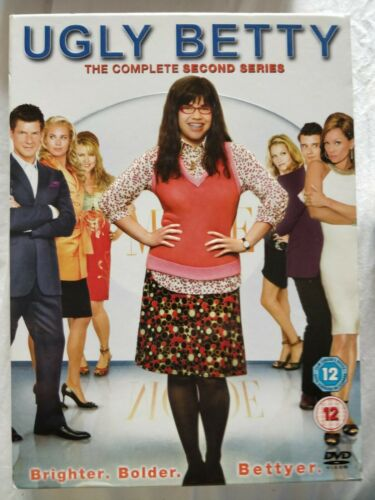 Ugly Betty - Series 2 - Complete (DVD, 2008, 5-Disc Set, Box set)