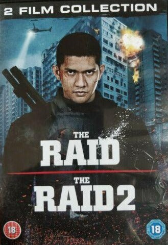 The Raid / The Raid 2 DVD cert 18 region 2