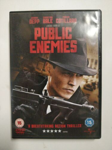 Public Enemies [DVD]Carey Mulligan, Christian Bale, Marion Co. cart32