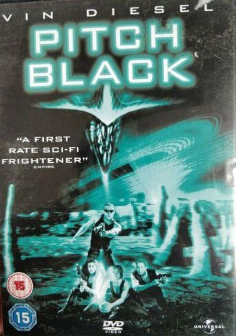 Pitch Black DVD cert 15 region 2