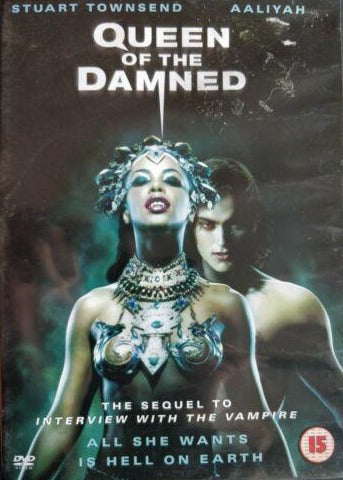 Queen of the Damned  cert 15 region 2