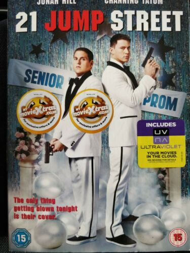 21 Jump Street DVD cert 15 region 2 with sleeves cover
