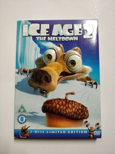 Ice Age 2 - The Meltdown with sleeve(DVD, 2-Disc Set)cart L6