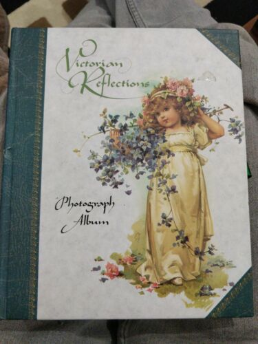 Victorian Reflections Photograph Album 12 Leaves 26 Back To Back Apertures