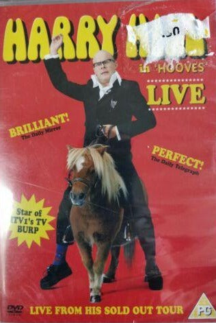 Harry Hill - Live! DVD cert PG region 2