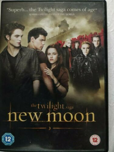 The Twilight Saga - New Moon (DVD,)