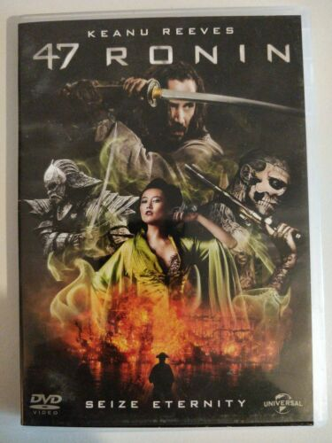 Keanu reeves 47 Ronin Seize enternity dvd cart32