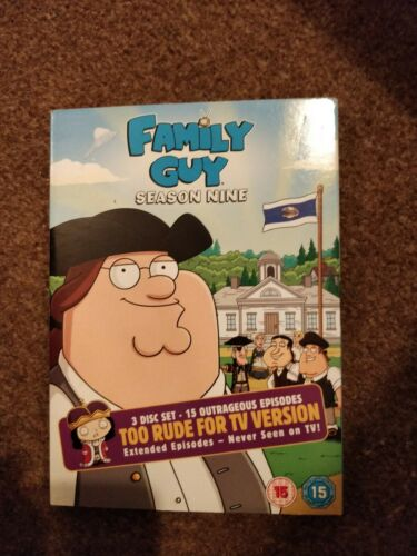FAMILY GUY : SEASON NINE ( 9 )  3 DISC DVD BOX-SET IN VGC