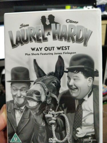 laurel and hardy way out west DVD 01939019
