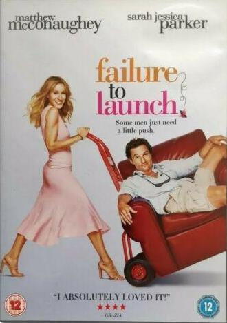 Failure to Launch DVD cert 12 region 2