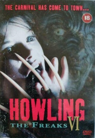 Howling 6 The Freaks DVD cert 18 region 2