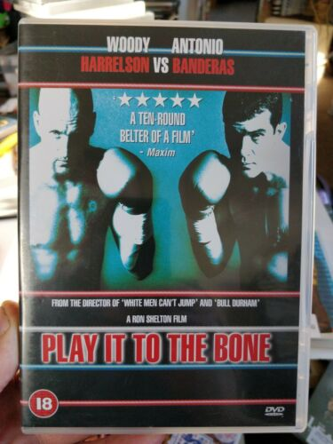 Woody Harrelson Antonio Banderas PLAY IT TO THE BONE ~ Boxing Comedy UK DVD