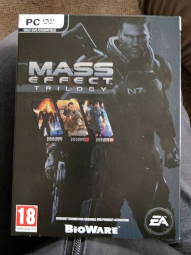 Mass Effect Trilogy PC DVD Games Condition good