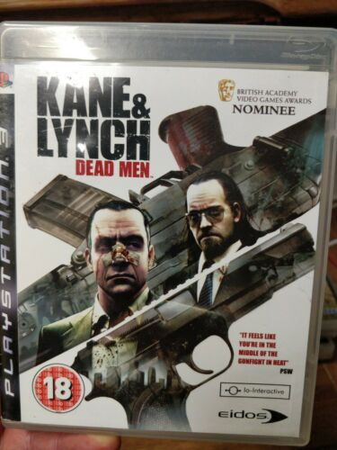 Kane & Lynch: Dead Men Sony PlayStation 3 PS3 game