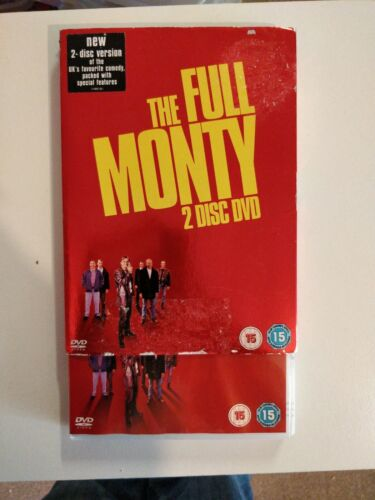 The Full Monty (DVD, 2006, 2-Disc Set) with sleeve cart 31
