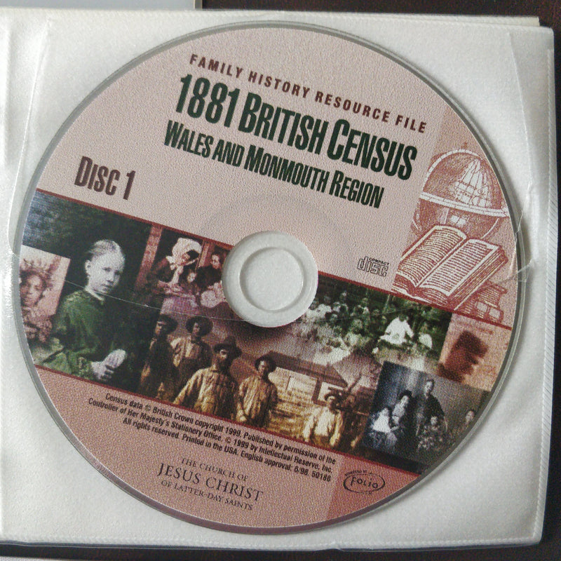 1881 British Census and National Index CD ROM