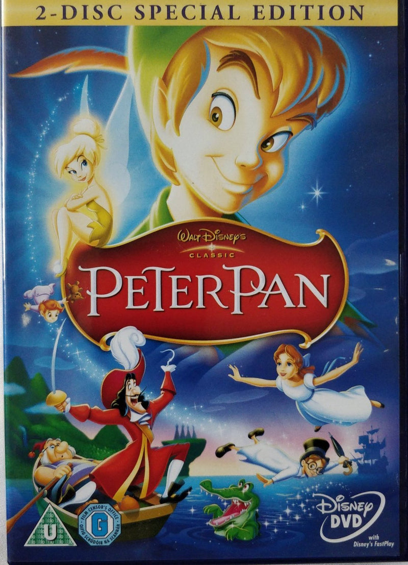 PeterPan DVD 2 disc special edition cert U region 2