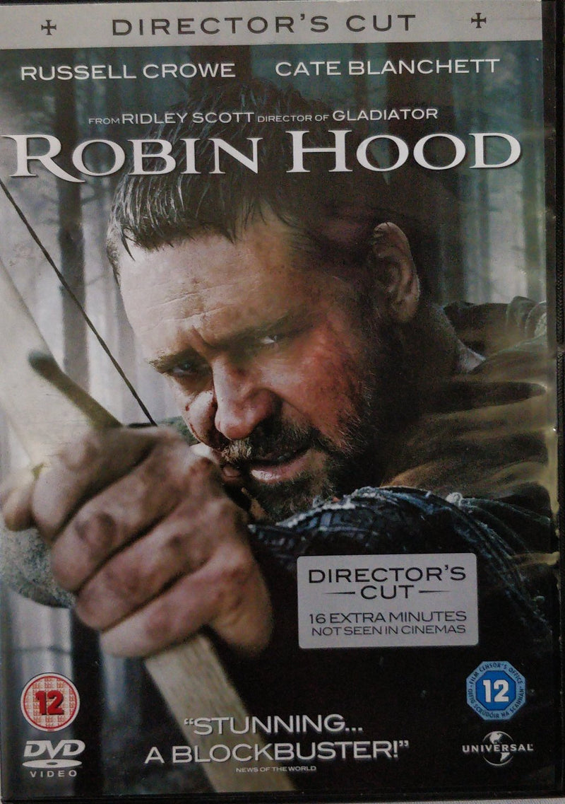 Robin hood director's cut DVD cert 12 region 2 4 5