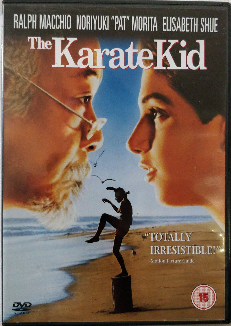 The karate kid DVD cert 15 region 2