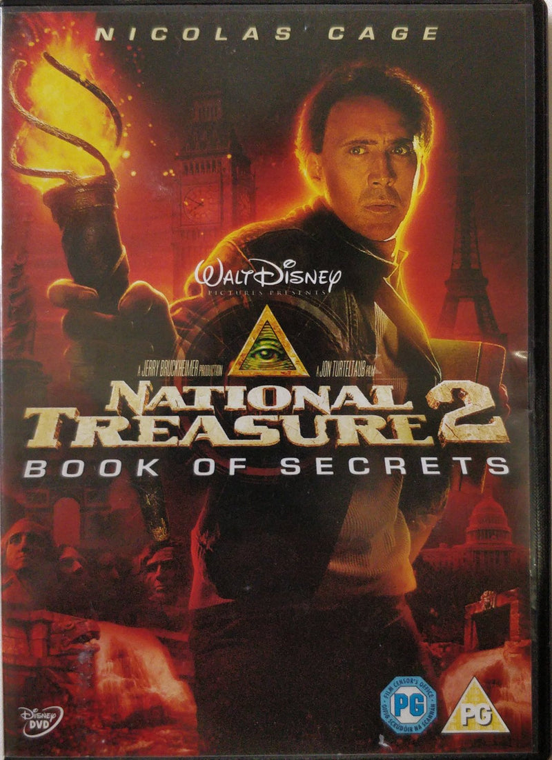 National treasure 2 to book of secrets cert PG region 2