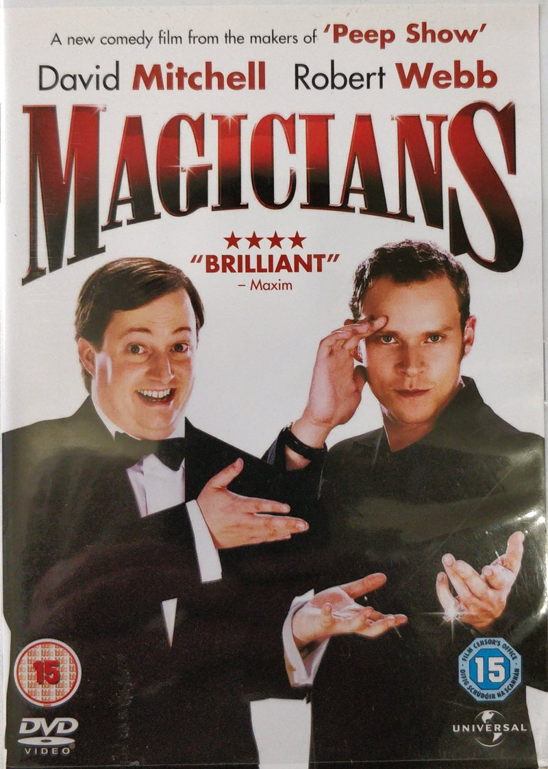 Magicians David Mitchell Robert Webb DVD