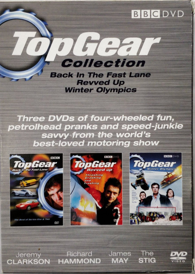 Top gear collection DVD