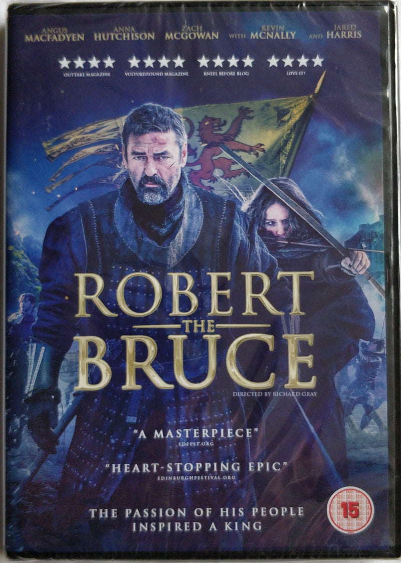 Robert the Bruce DVD cert 15 region 2