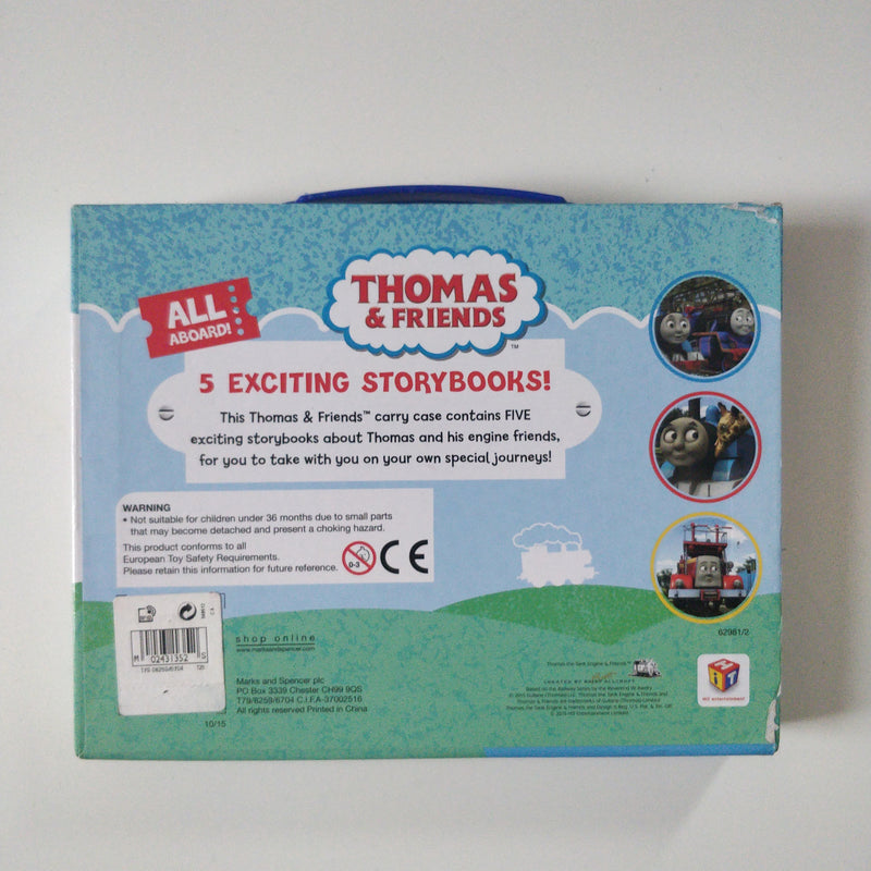 Thomas & Friends 5 Exciting Storybooks Box Set.