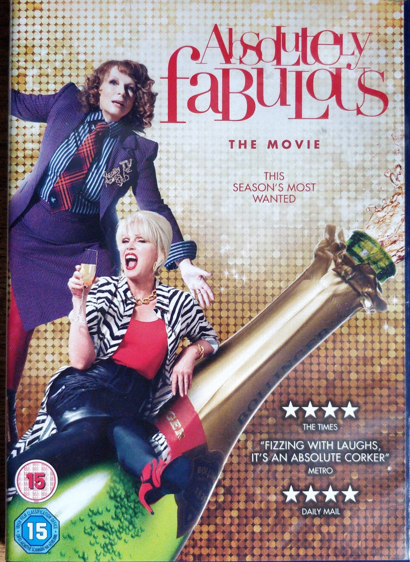 Absolutely Fabulous the movie DVD cert 15 region 2