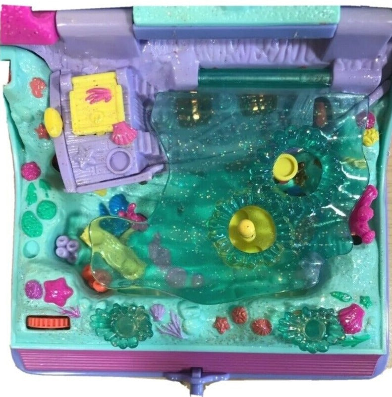 Vintage Polly Pocket Sparkling Mermaid Adventure Book 1995.