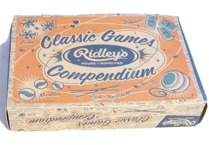 Vintage Ridley's House Of Novelties Classic Games New