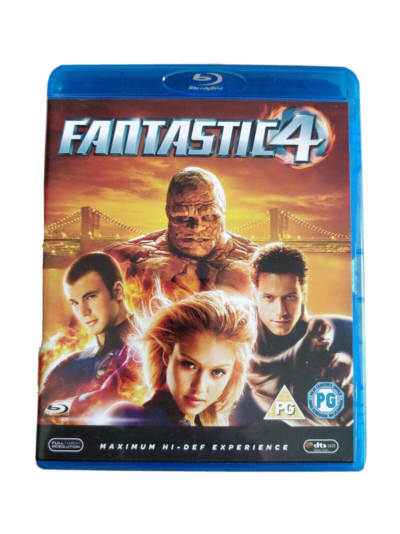 Fantastic 4 Blu-ray cert PG smart menu technology plus special features