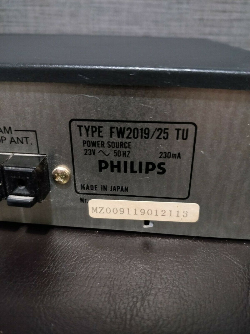 Philips 3-way timer preset scanning Type 2019/25 TU MZ009119012119