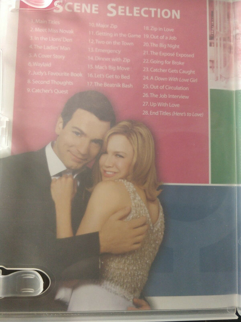 Down With Love DVD cert 15 region 2