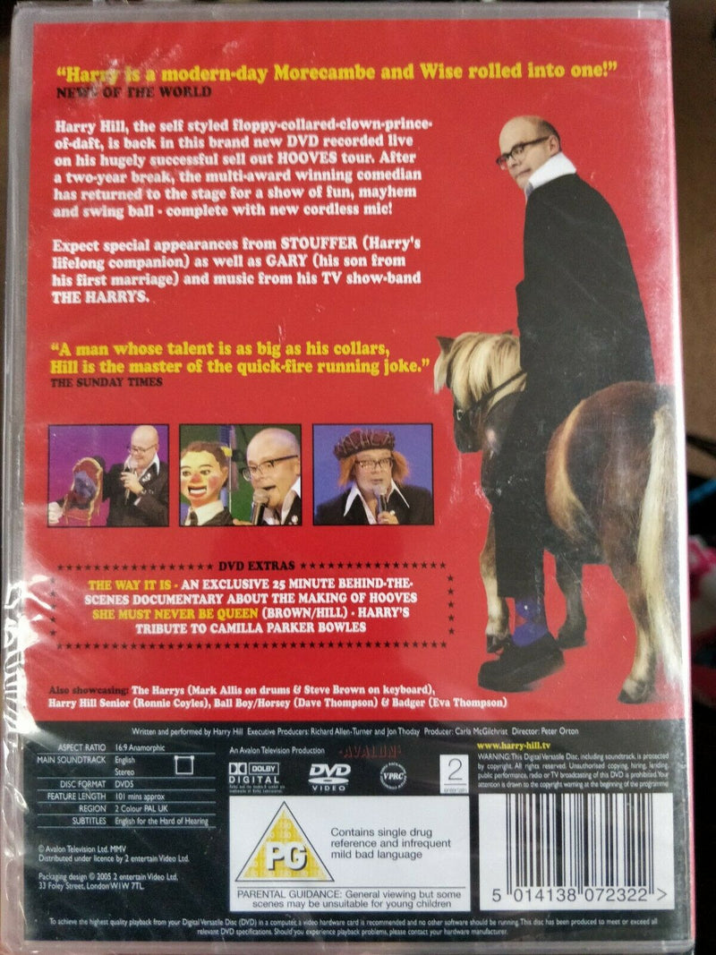 Harry Hill - Live DVD cert PG region 2