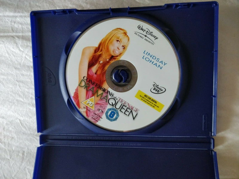 Confessions Of A Teenage Drama Queen DVD cert PG region 2