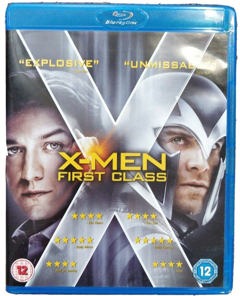 X-Men  First Class Blu-Ray cert 12 Marvel children of the atom multi-part documentary
