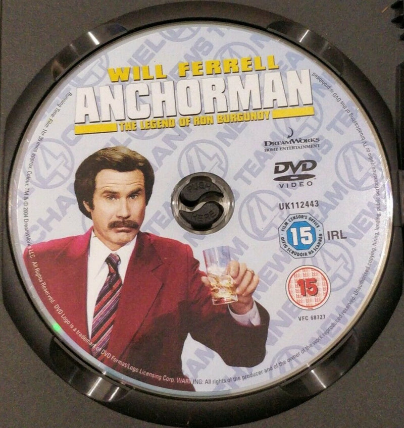 The legend of Ron burgundy DVD