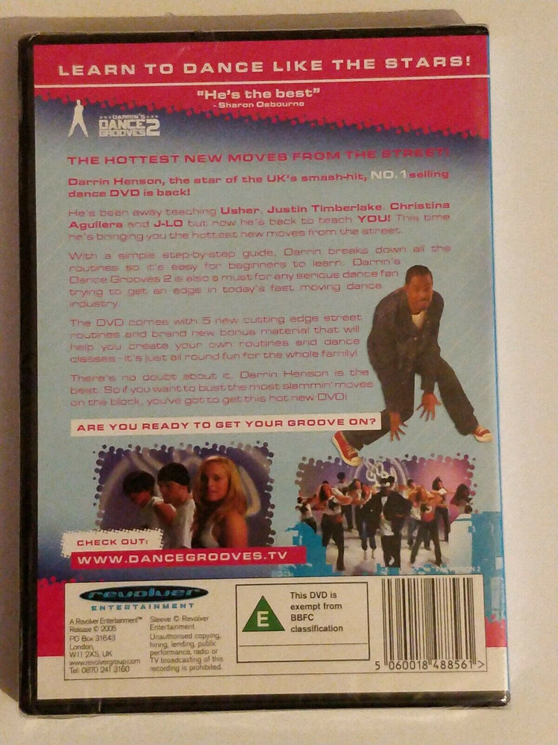 Dance Grooves 2 Learn five more groovy dance routines with Darrin Henson DVD