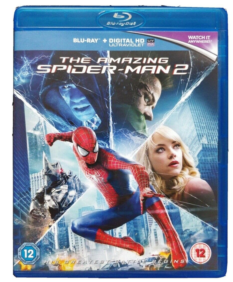 The Amazing Spider-Man 2 cert 12