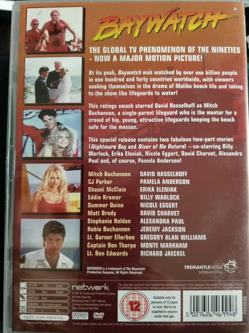 Best of Baywatch DVD cert 12 Region 2