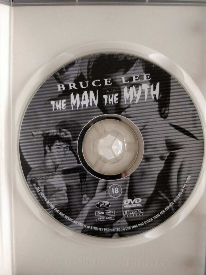 Bruce Lee The Man The Myth DVD cert 18 region 2 with Interactive menus Dolby Digital