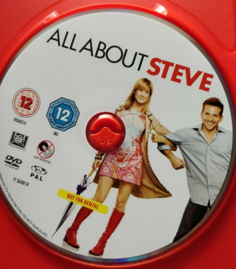 All About Steve DVD cert 12 region 2