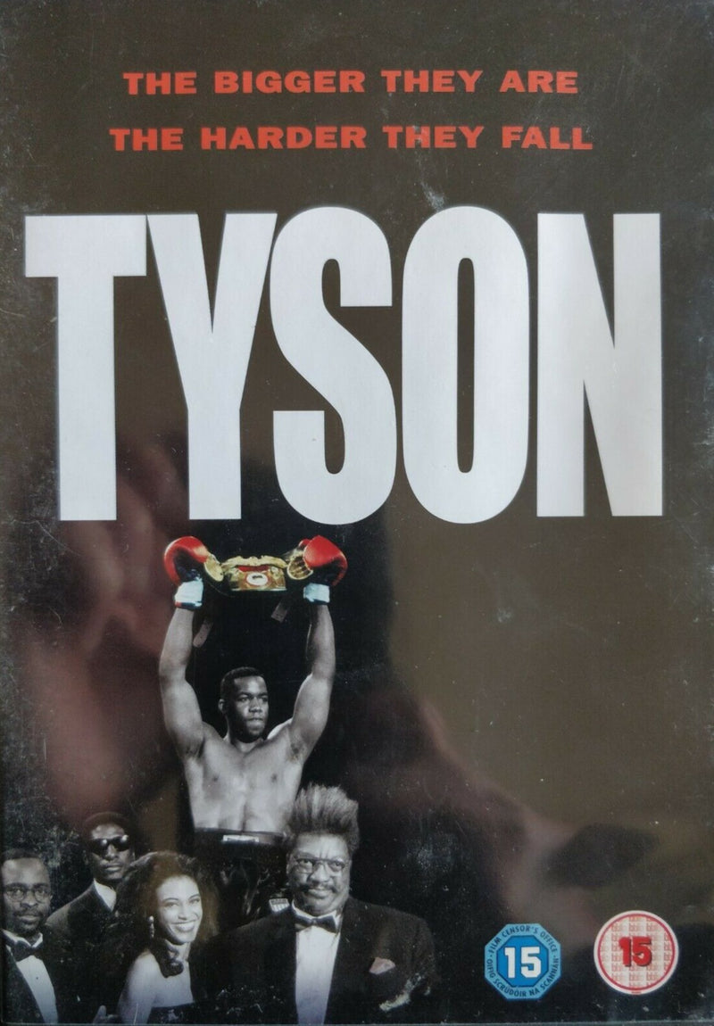 Tyson the bigger they are the harder they fall DVD cert 15 region 2