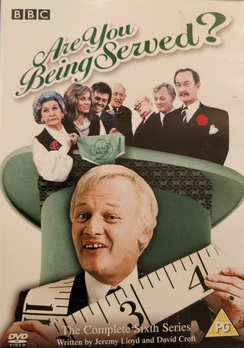 Are You Being Served The Complete Sixth Series DVD